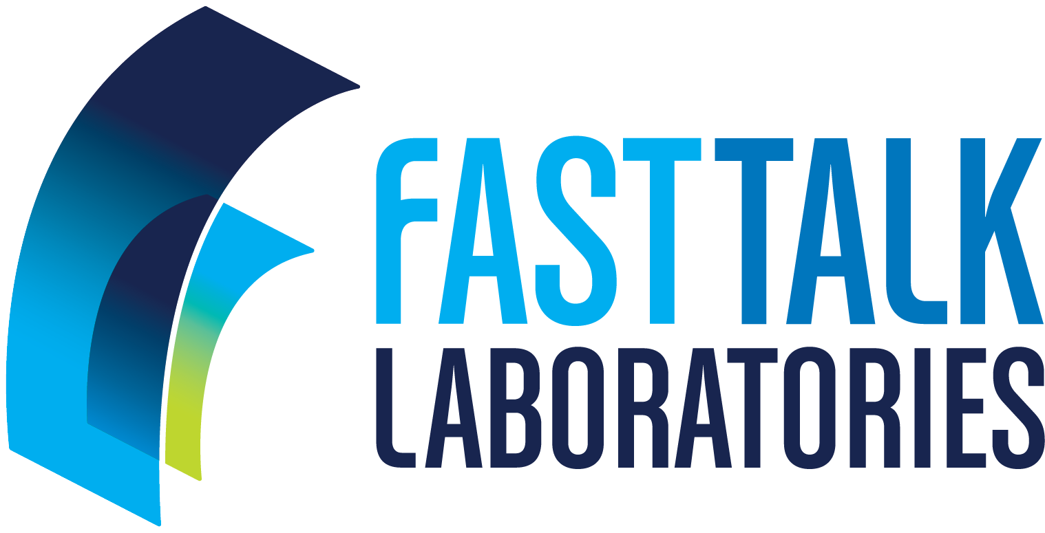 Fast Talk Laboratories logo horizontal